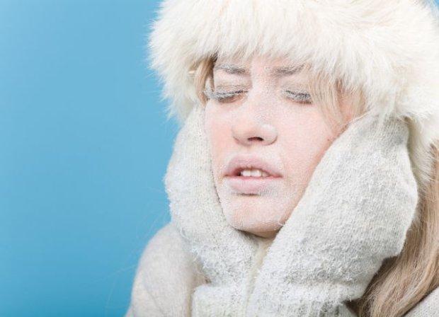 Erfrierung des Gesichts – wie kann man sich helfen?