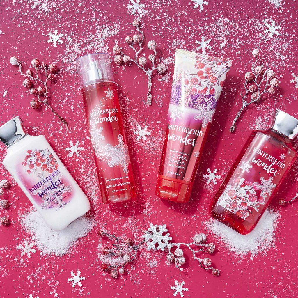 Zeit für Weihnachtsmagie. Die Winter-Kollektion von Bath&Body Works