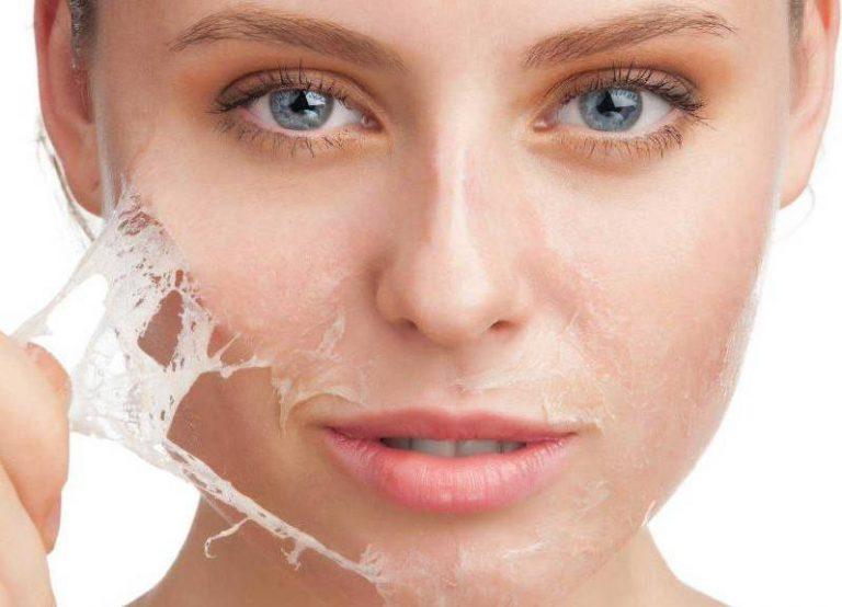 Gesichtsmaske aus Gelatine – Rezept