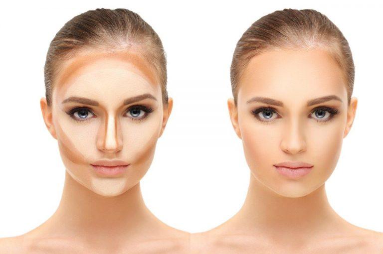 Können die Gesichtszüge mit dem Make-up verändern werden? Contouring Schritt für Schritt