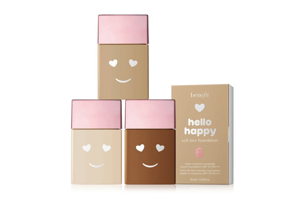 Happy steht uns gut! Neue Foundation Benefit Hello Happy